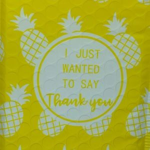 Other - Pineapple Padded Mailers 8x5 Small Jewelry mailer